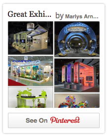 Great Exhibit Design Examples on Pinterest
