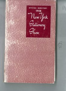 Photo courtesy of NSS (1948 show directory)