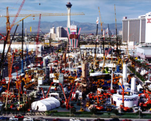 Photo courtesy of AEM (first CONEXPO-CON/AGG in 1996)
