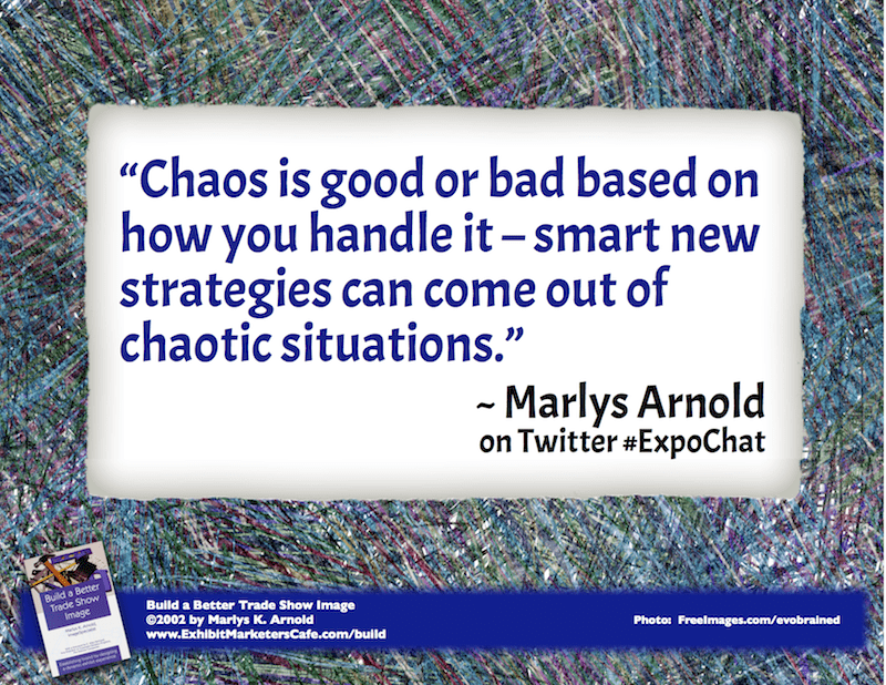Chaos is good or bad
