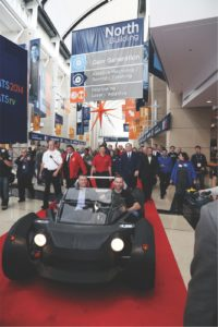 Photo courtesy of IMTS (3D printed car at the 2014 event)