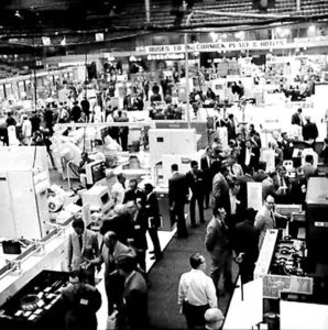 Photo courtesy of IMTS (from the 1972 event at McCormick Place)