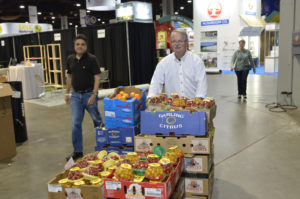 Photo courtesy of Fresh Summit (part of the donations to Atlanta Community Food Bank at the 2015 show)