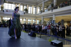 Photo courtesy of NPE (from the Pursuing Zero Waste Fashion Show at NPE2015)