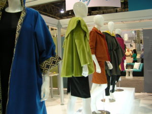 Not your typical runway in a booth at HD Expo (photo by Marlys Arnold)