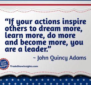 Leader quote - John Quincy Adams
