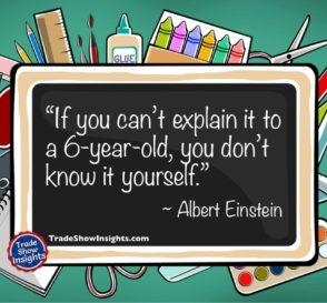 Explain quote - Einstein