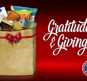 Gratitude & Giving