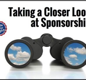Taking a closer look at sponsorship
