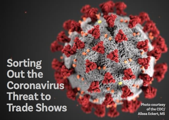 Coronavirus threat to Trade Shows