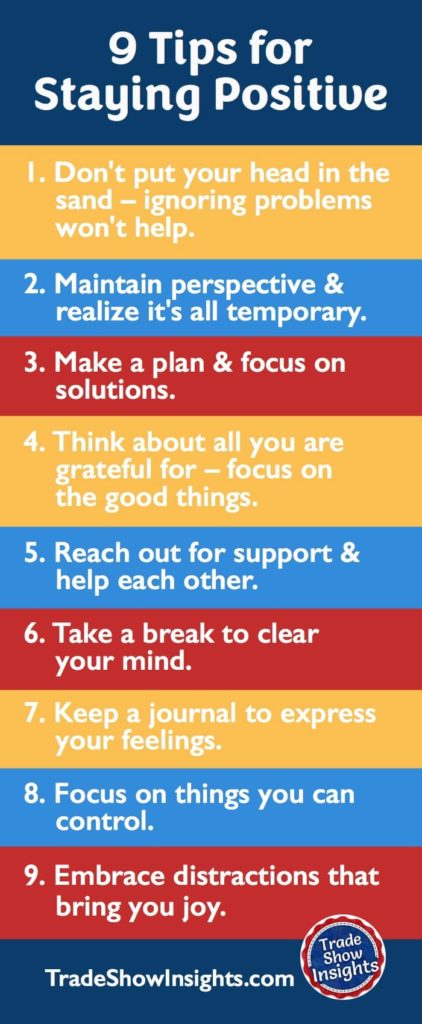 9 Tips for Staying Positive
