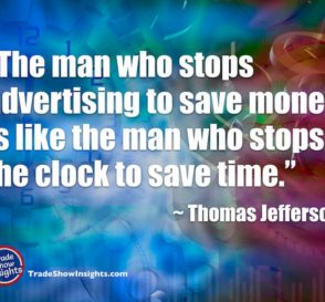 Advertising - Jefferson quote
