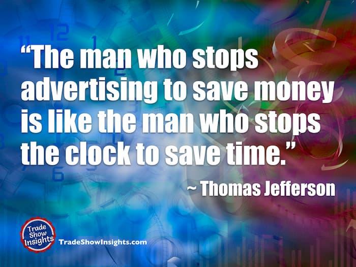 Advertising - Jefferson quote