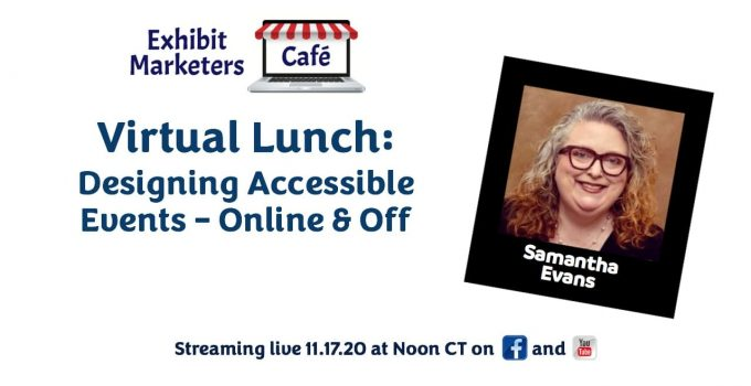 Designing Accessible Events - Online & Off