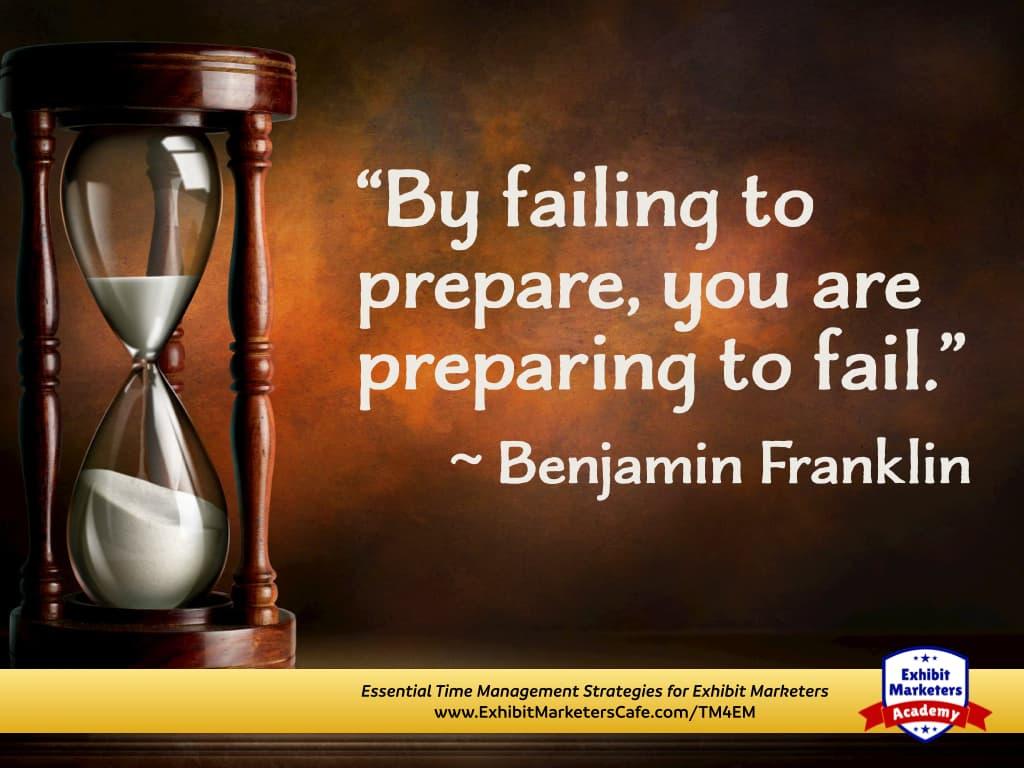 Prepare quote - Ben Franklin