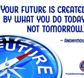 Future created by today