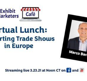 Restarting Trade Shows in Europe