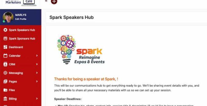 Spark Hub on SuiteDash